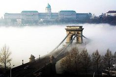Stunning image of Budapest Lance His (Chain Bridge) Beautiful Places In The World, Most Beautiful Cities, Capital Of Hungary, Budapest Travel, Dubai Skyscraper, Heart Of Europe, Central Europe, Budapest Hungary, World Of Color