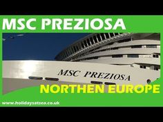 MSC Preziosa ship tour and cruise Msc Cruises, Cruise Europe, Ship, Tours, Youtube, Youtubers, Ships