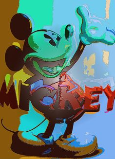 Shop for mickey mouse artwork and designs from the world's greatest living artists. All mickey mouse artwork ships within 48 hours and includes a money-back guarantee. Mickey Mouse Silhouette, Mickey Mouse Cartoon, Mickey Mouse And Friends, Mickey Minnie Mouse, Disney Mickey, Mickey Mouse Pictures, Disney Fine Art, Disney Addict, Nursery Art