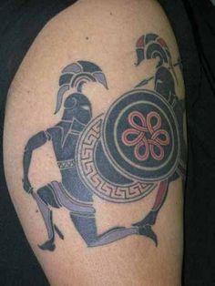 soldier-greek-tattoo.jpg (485×646)