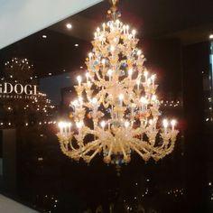 Stunning Marano Glass Lighting & Furniture @maisonobjet @parisdesignweek #Luxury