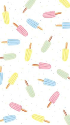 Cute Pastel Wallpaper, Cute Patterns Wallpaper, Summer Wallpaper, Trendy Wallpaper, Pretty Wallpapers, Cool Wallpaper, Cream Wallpaper, Free Wallpaper Backgrounds, Homescreen Wallpaper