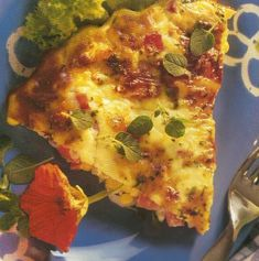 Crustless Ham & Corn Quiche   Weighless Mauritius