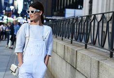EYEWEAR DIARY - Fashion Blog Brasil: Street Style - Semana de Moda de Nova York - Verão 2014