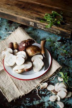 Salsa de boletus - Because blog recetas faciles