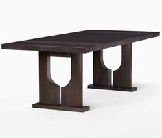 Holly Hunt Easter Island Dining Table / hollyhunt.com