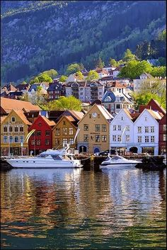 Bryggen, Bergen, Hordaland Fylke, Norway