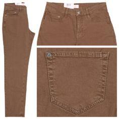 Warme Farben sind im Herbst total angesagt, so zum Beispiel MAC Jeans Stella tobacco.