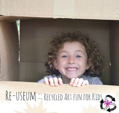 Re-useum :: Backyard Art Camp Party Projects For Kids, Art Projects, Art Camp, Recycled Art, Mini Me, Art Lessons, Cool Kids, Backyard, Crafty