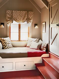 There's nothing like a spot by the window in a cozy cottage. | Gillian Barth, assistant editor and assistant to the editor | Photo: Robbie Caponetto | thisoldhouse.com