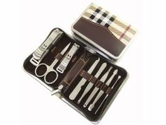 8in1 Stainless Steel Nail Clippers Set Manicure Pedicure Kit Cuticle Tool imixlot. $15.99. STAINLESS STEEL NAIL CLIPPERS PEDICURE TOOLS SET, WITH CASE