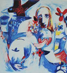 Charles Blackman ~ Alice's Adventures, 2001
