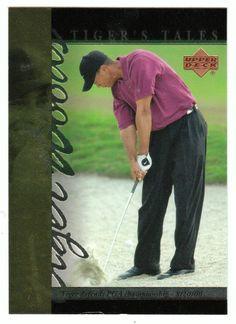 Tiger Woods # TT-27 - 2001 Upper Deck Golf Tiger's Tales