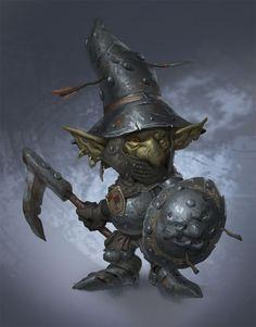 Goblins, Prosper Tipaldi on ArtStation at https://www.artstation.com/artwork/ldR1a
