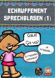 Échauffement-Sprechblasen (1) – Französisch History Class, Teaching French, Comic Books, School, Cover, Study Techniques, School Social Work, Geography, Thought Bubbles