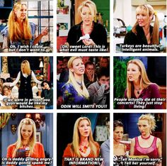 Phoebe from Friends! I love her!!!!