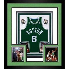Bill Russell Autographed Celtics Swingman Jersey - Deluxe Framed from  ManCaveGiant.com Bill Russell d2a788d82