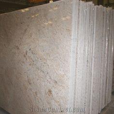 Colonial Cream Granite Slab, India Beige Granite-231746 - StoneContact.com