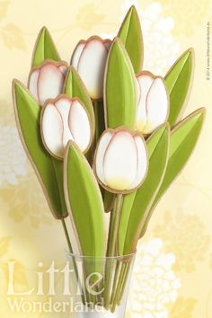 Tulip bouquet | Cookie Connection by Little Wonderland