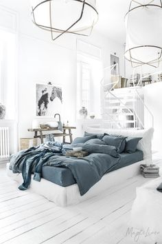 Give your bed an elegant makeover with our linen duvet sets. Handmade from stone washed, pure linen. Bed Sets, Bed Linen Sets, Linen Duvet, Duvet Sets, Duvet Cover Sets, Linen Fabric, Master Bedroom, Bedroom Decor, Master Suite