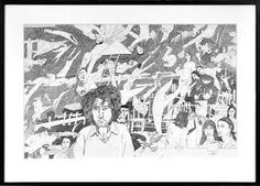 Image result for Jeffrey Harris Polaroid Film, Tapestry, Drawings, Artist, Image, Google Search, Hanging Tapestry, Tapestries, Artists