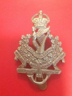 8th (Irish) Bn Kings Liverpool Regiment cap badge