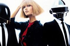 Daft Punk and Karlie Kloss ダフトパンク&カーリー・クロス VOGUE