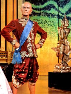 """The King of Siam portrayed by Yul Brynner ~ """"The King and I"""", Hollywood Actresses, Old Hollywood, Oscar Hammerstein Ii, Honeymoon Cruise, Yul Brynner, Richard Rodgers, Deborah Kerr, Musical Film, King Queen"""