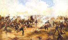 1818 - Batalla de Maipú - Guerra independencia Hispanoamerica decidió en gran parte la independencia de Chile