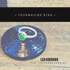 Tourmaline silver ring! #goldsmith #metal #silver #gold #plata #oro #anillo #ring #jewelry #instajewelry #jewels #gems #sfs #gemstone #tourmaline #crystal #green #joyeria #joyeriamexicana #diseñomx #diseño #design #handmade #mexico #guadalajara #cdmx