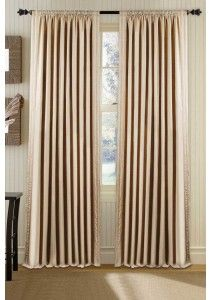 Curtain Shikha Pleated Beige