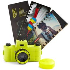 Sprocket Rocket SUPERPOP Camera in Yellow ($45) ❤ liked on Polyvore