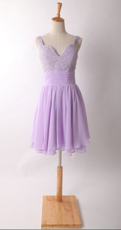 Lavender Chiffon Bridesmaid Dress Prom Dress with by autoalive, $99.00 but on eggplant for our wedding