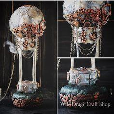 Done!!!! #steampunkart #steampunkstyle #steampunk #polymerclay #wilddragocraftshop #bywilddrago #gift #present #him #her #johannesburg #art #handmade #handmadegifts #magic #diselpunk #diselpunk Unique Toys, Cute Little Things, Craft Shop, Steampunk Fashion, Polymer Clay, Captain Hat, Collectible Toys, Handmade Gifts, Christmas Ideas