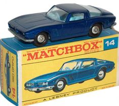 #diecast #Matchbox 14D ISO Grifo new or updated at www.diecastplus.info