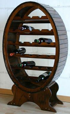 Wooden Wine Holder, Bar, Buffet, Wood Turning, Wine Rack, Mirror, Projects, Design Ideas, Furniture