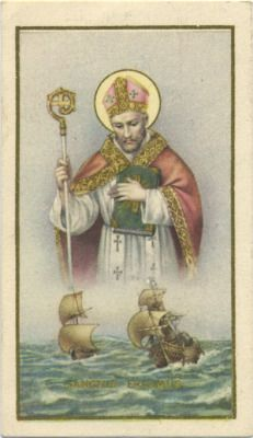 Saint Erasmus patron saints of sailors