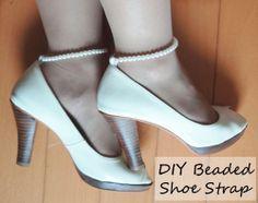 Beaded Shoe Strap DIY Kit $38