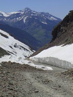 Paradise Basin area, CO/ High on the mountain pass