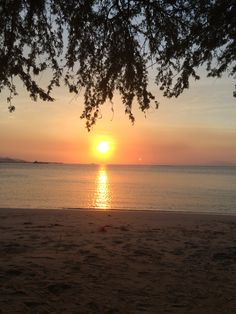I can't get enough of such beauty! Sunset in Dili!