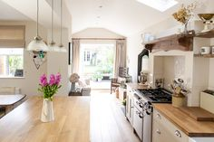 Gorgeous kitchen ...♥♥... Image By Adam Crohill - A 3 Bed Victorian Terrace Redecoration And Extension Project In Hertfordshire Uk, Featuring Upcycled And Reclaimed Details.