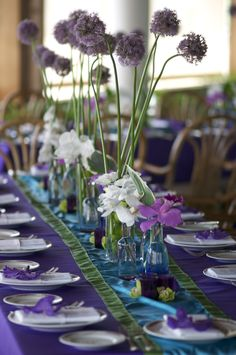 Your wedding can be anywhere from light green to dark green depending on how many elements are eco-friendly. If each bride and groom took at least one element of their wedding and made it green, it could literally the change the world!