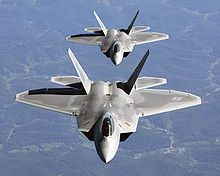 F-22 Raptor Stealth Fighters