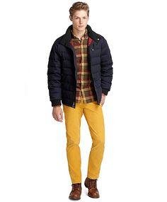 Short Puffer Jacket - Brooks Brothers