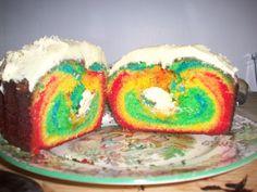 rainbow cake hmmmmm :)
