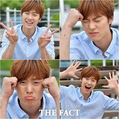 This boy is sho cute! Gong Myung ah....