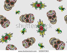 Background patterns, Bone jewelry and Skulls on Pinterest