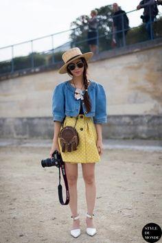 STYLE DU MONDE / Paris FW SS2014: Ploy Chava  // #Fashion, #FashionBlog, #FashionBlogger, #Ootd, #OutfitOfTheDay, #StreetStyle, #Style