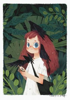lost in the forest by 君 Jun on Behance / pinterest @softcoffee