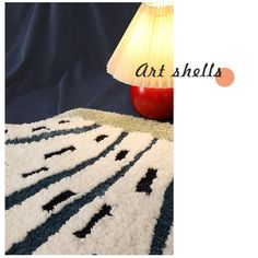 Designer | Fluffy Fairy Shell Series Rug, Play Mat, House Warming Gifts, Homeware, Wall Hanging, Kids Mat, Entrance, Abstract, Carpet, Decor Fibre And Fabric, Bathroom Rugs, Small Rugs, Rugs In Living Room, Valentine Day Gifts, Rug Size, House Warming, Cool Designs, Shells